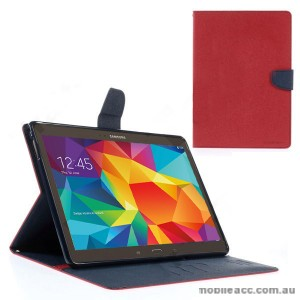 Korean Mercury Fancy Diary Case for Samsung Galaxy Tab S 10.5 - Red