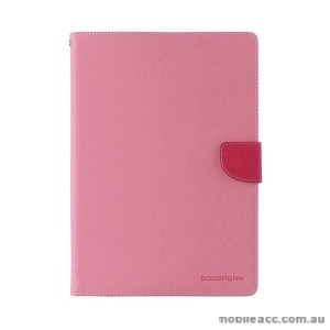 Mercury Goospery Fancy Diary Wallet Case for Samsung Galaxy Tab S2 9.7 Light Pink