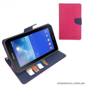 Korean Mercury Case for Samsung Galaxy Tab 3 7.0 Lite - Hot Pink