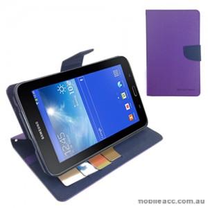 Korean Mercury Case for Samsung Galaxy Tab 3 7.0 Lite - Purple