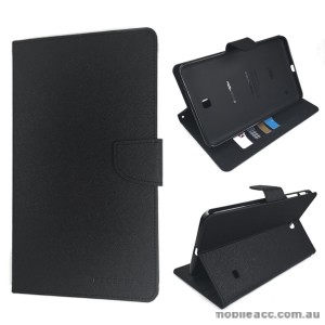 Korean Mercury Fancy Diary Case for Samsung Galaxy Tab 4 8.0 - Black