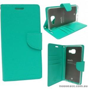 Mercury Goospery Bravo Diary Wallet Case For Samsung Galaxy A5 2016 - Mint