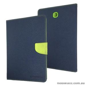 Korean Mercury Wallet Case Cover for Samsung Galaxy Tab A 8.0 Blue