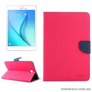 Mercury Goospery Fancy Diary Wallet Case for Samsung Galaxy Tab A 8.0 Pink