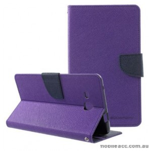 Mercury Goospery Fancy Diary Wallet Case Cover For Samsung Galaxy Tab A 7.0 2016 - Purple