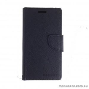 Mooncase Stand Wallet Case for Motorola Moto X play Black