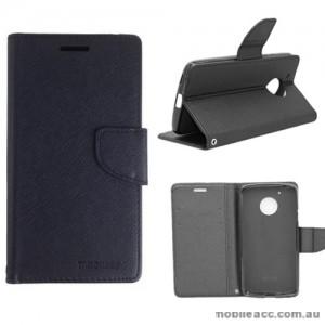 Mooncase Stand Wallet Case For Motorola Moto G5 Black