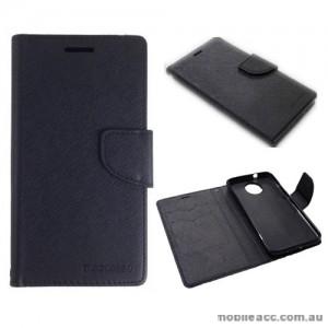 Mooncase Stand Wallet Case For Motorola Moto G5S - Black