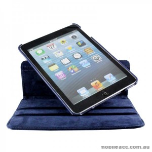 360 Degree Rotating Case for iPad mini / iPad mini 2 - Bluex2