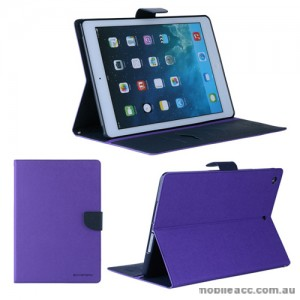 Korean Mercury Fancy Diary Case for iPad Air 2 - Purple
