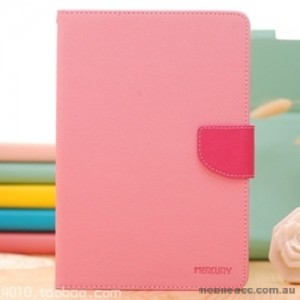 Korean Mercury Fancy Diary Wallet Case Cover for iPad Pro 9.7 Inch Light Pink+ SP