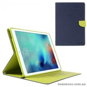 Mercury Goospery Fancy Diary Case For Apple New iPad 9.7 - Navy