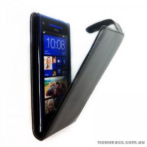 Flip Pouch Case for HTC Windows Phone 8X - Black