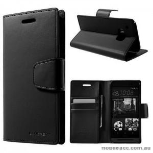 Korean Mercury Sonata Wallet Case for HTC One M9 - Black
