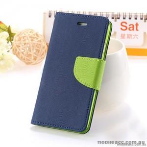 Mercury Fancy Diary Wallet Case for HTC One X9 Navy
