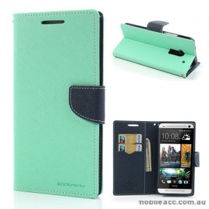 Korean Mercury Wallet Case for HTC One Max - Green