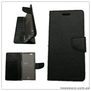 Mercury Goospery Bravo Diary Wallet Case For Oppo F1s - Black