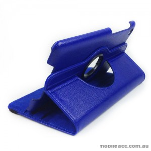 360 Degree Rotary Case Cover for Google Nexus 7 II 2013 - Blue