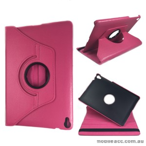360 Degree Rotating Case for Apple iPad Pro 9.7 inch Hot PInk + SP