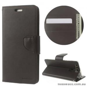 Mercury Goospery Bravo Diary Wallet Case For Huawei P9 Plus - Black