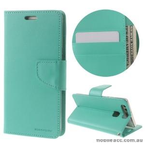 Mercury Goospery Bravo Diary Wallet Case For Huawei P9 Plus - Mint
