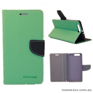 Mooncase Stand Wallet Case For Huawei P10 Plus Mint