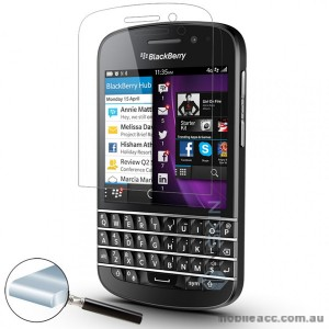 Premium Tempered Glass Screen Protector For BlackBerry Q10