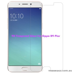 Premium Tempered Glass Screen Protector For Oppo R9 Plus