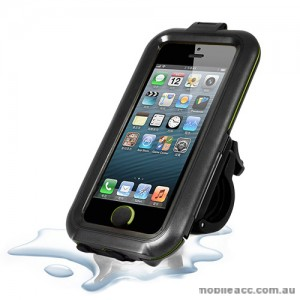 Water Proof Resistant Bike Motorbike Mount for Apple iPhone 5/5S/SE / 5C × 2