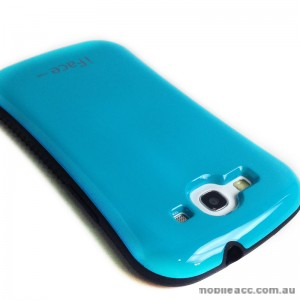 iFace Anti-Shock Soap Shape Case for Samsung Galaxy S3 i9300 - Blue