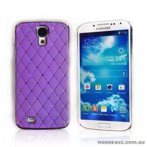 Star Diamond Case for Samsung Galaxy S4 i9500 - Purple