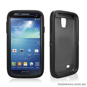 Rugged Defender front &  Back Tough Case for Samsung Galaxy S4