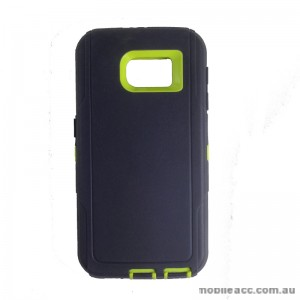 Rugged Defender Heavy Duty Case for Galaxy S6 Green