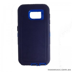 Rugged Defender Heavy Duty Case for Galaxy S6 Blue