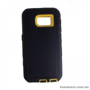 Rugged Defender Heavy Duty Case for Galaxy S6 Yellow