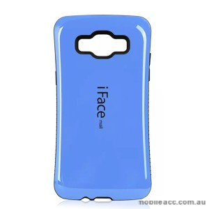 Samsung Galaxy A3 iFace Anti-Shock Case Cover - Blue