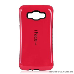 Samsung Galaxy A5 iFace Anti-Shock Case Cover - Hot Pink
