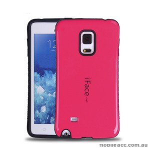 Samsung Galaxy Note Edge iFace Anti-Shock Case Cover - Hot Pink
