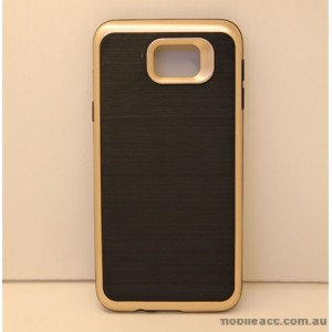 Rugged Shockproof Tough Back Case For Samsung Galaxy J5 Prime - Gold