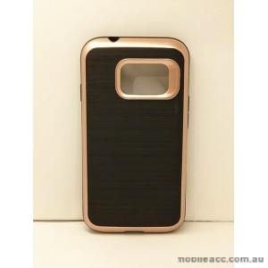 Rugged Shockproof Tough Case Cover For Samsung Galaxy J1 Mini - Rose Gold