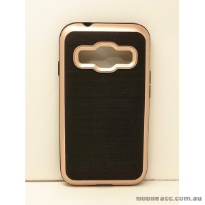 Rugged Shockproof Tough Case Cover For Samsung Galaxy J1 Mini Prime - Rose Gold