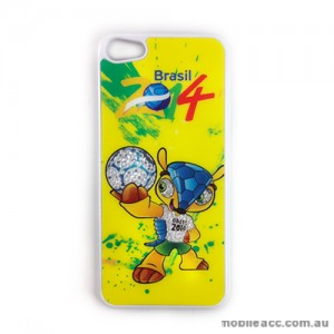 Bling Crystal Diamond Case Cover for iPhone 5/5S/SE - World Cup Brasil