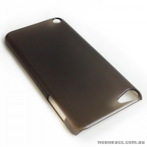 Translucent Back Case for Apple iPod Touch 5 - Black