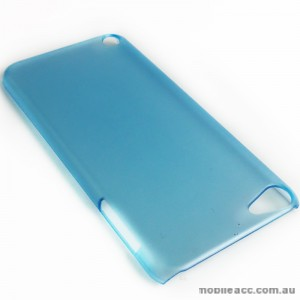 Translucent Back Case for Apple iPod Touch 5 - Blue