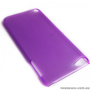Translucent Back Case for Apple iPod Touch 5 - Purple
