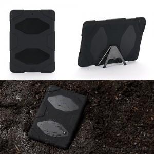 Heavy Duty Defender Anti-Shock Case for Apple iPad Air - Black