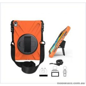 3 in1 Defender heavy Duty Case For New Ipad 9.7'' (2018) Orange