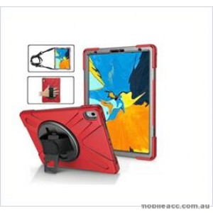 3 in1 Defender heavy Duty Case For New Ipad 9.7'' (2018) RED