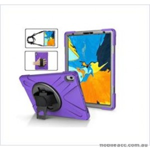 3 in1 Defender heavy Duty Case For New Ipad 9.7'' (2018) Purple