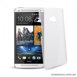 Ultra Thin Crystal Clear Back Case for HTC One M7